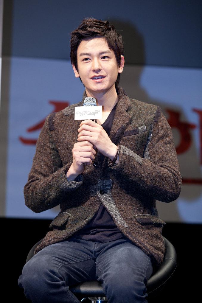 임주환 2011 영화 수상한 고객들 제작보고회 06