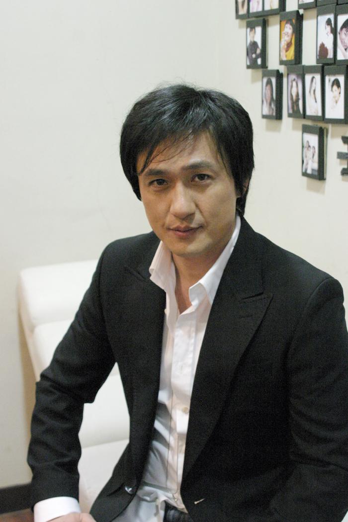손창민 광고 현대해상 지면 촬영현장 2006 03