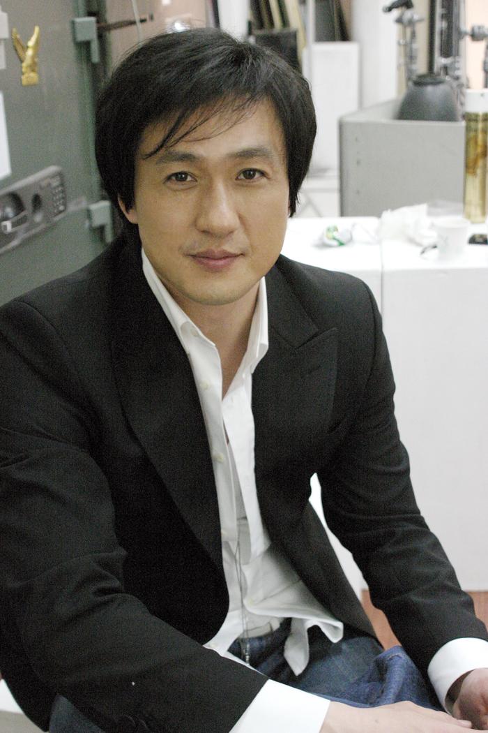 손창민 광고 현대해상 지면 촬영현장 2006 04