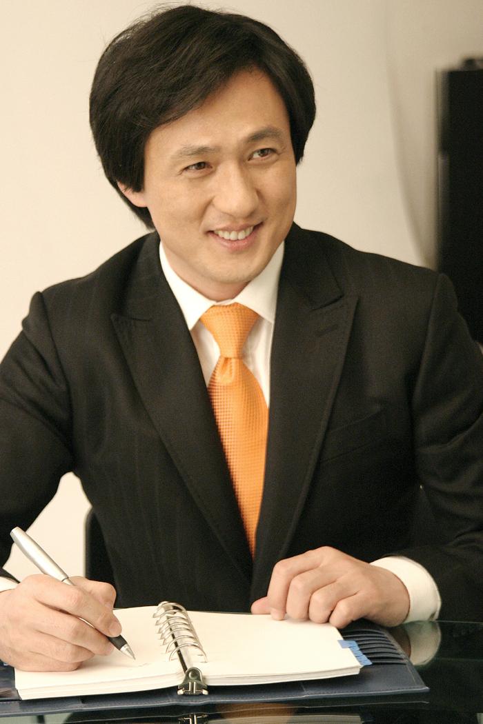 손창민 광고 현대해상 지면 촬영현장 2006 06